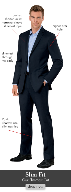 Suit Fit Guide - Slim Fit vs Tailored Fit Suits